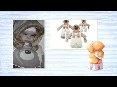 Демисезонные комбинезоны для новорожденных Купить детскую