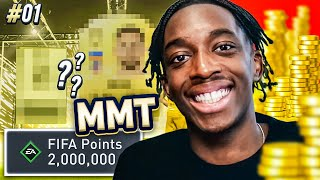 2 MILLIONS FIFA POINTS! THE COIN HUNT BEGINS! LET'S GO! MMT S2 - #1