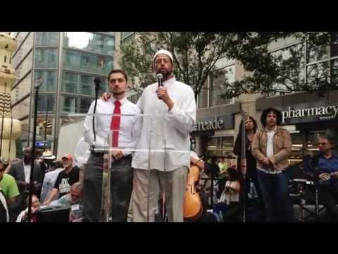 Imam Zaid Shakir at the People's Climate March - 9.21.14
