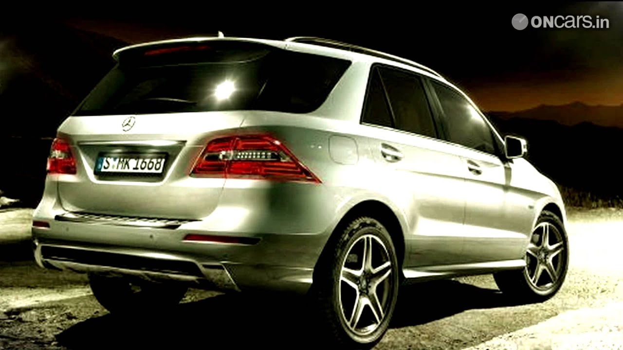 2012 Mercedes Benz Ml 250 Cdi Launched In India At Rs 45 6
