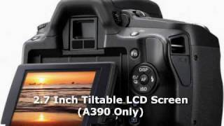 getitdigital review: SONY Alpha  A290 & A390 Basic Overview of Features NEW!