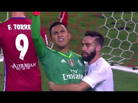 Keylor Navas Penalty Save vs Atletico Madrid   Real Madrid vs Atletico 2015   HD
