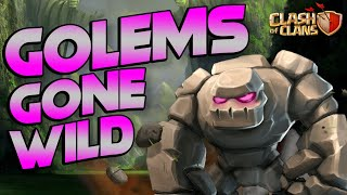 GIANT ROCK MONSTERS!  TH11 Let's Play | Clash of Clans