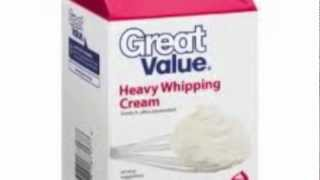 Heavy Cream Whipped Icing