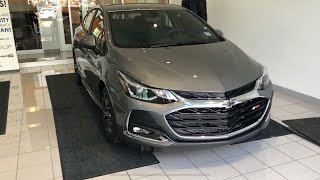 2019 Chevrolet Cruze RS Review Features and Test Drive