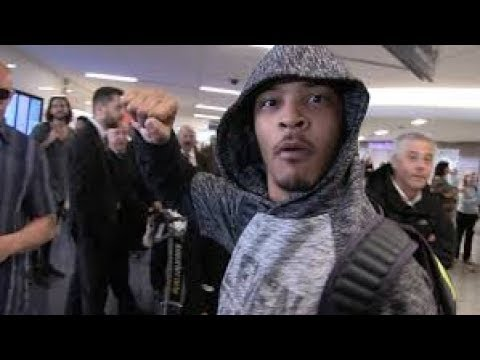 T.I. JOINS PROTESTERS AT A RESTAURANT IN ATLANTA THAT PEOPLE CLAIM THEY WERE DISCRIMINATED AGAINST!