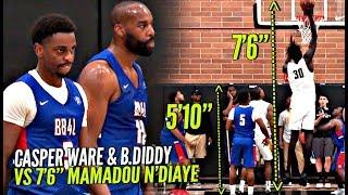 baron davis 510 casper ware vs 76 mamadou ndiaye got poppin at the drew