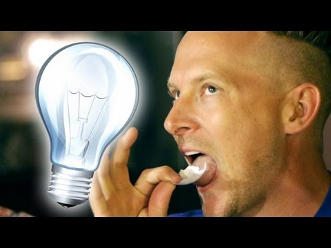 EAT Lightbulbs Without Getting Hurt!