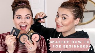 TEACHING A BEGINNER HOW TO APPLY MAKEUP | TIPS AND TRICKS