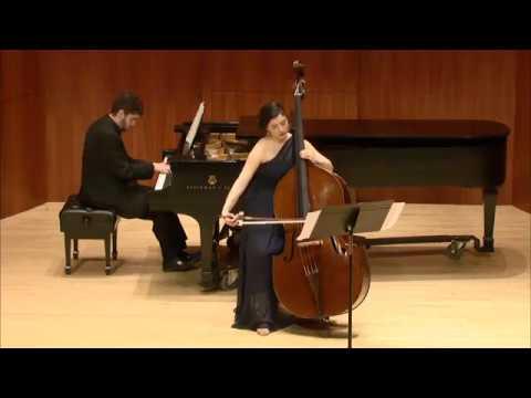 Schubert: Arpeggione Sonata, Double Bass - Caroline Samuels