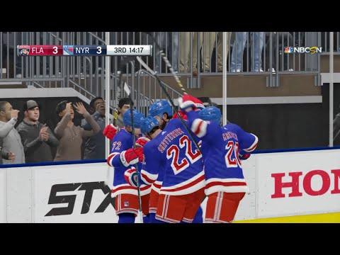 NHL 19 - Florida Panthers Vs New York Rangers Gameplay - NHL Season Match Oct 23, 2018