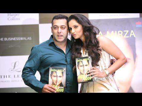 UNCUT: Salman Khan Launches Sania Mirza's Book 'Ace Against Odds'