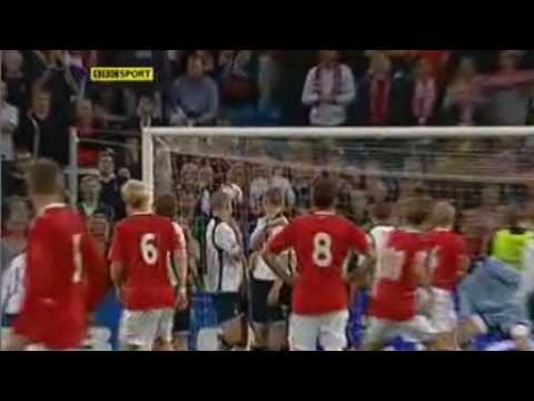 Pedersen's 2nd Goal vs Scotland - 12.08.2009 WCQ