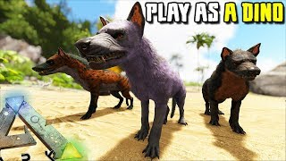 THE HYAENA PACK TAKES OVER THE SERVER !!  | PLAY AS A DINO | ARK SURVIVAL EVOLVED