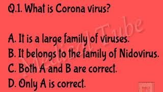 CORONA QUIZ UPDATES FOR Nursing Exam || Multiple Choice Questions & Answers || NORCET