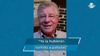 Sra. Gómez: Es usted un SER DESPRECIABLE. Es un ser tan despreciable, simplemente por la cerdada que le hizo a los trabajadores del municipio de Texcoco cuando usted era presidenta municipal