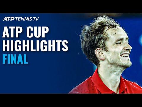 Medvedev vs Berrettini; Rublev vs Fognini | ATP Cup 2021 Final Highlights