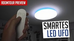 Roomtour Preview + Neue Lampe! (Yeelight LED Deckenlampe)