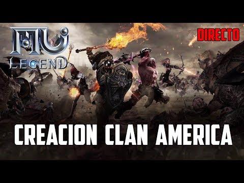 CREACION DEL NUEVO CLAN, GUILD, GREMIO | SERVIDORES AMERICA | MU LEGEND ESPAÑOL