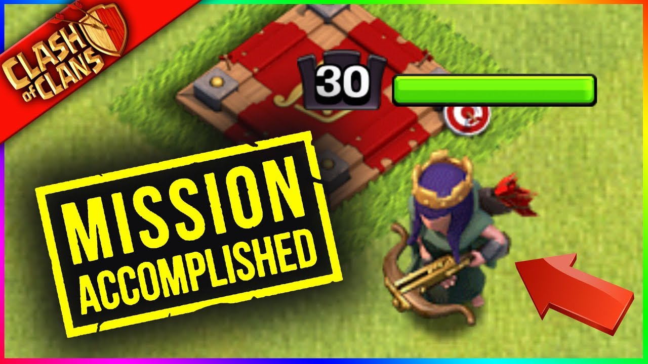 CONGRATS, YOU FARMED AN EPIC ARCHER QUEEN!!! ....NOW WHAT?