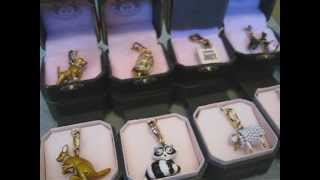 My Juicy Couture Charm Collection - Food, Animal, Limited Edition Gold and Silver Charms