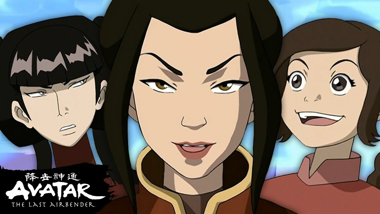 """Download Azula, Mai, and Ty Lee """"Ozai's Angels"""" Baddest Moments! 