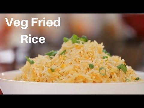 Veg Fried Rice in Telugu - Restaurant Style Vegetable Fried Rice By Nishanti  - Chinese Fried Rice