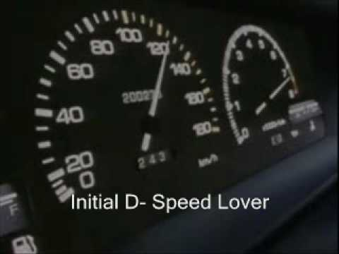 Initial D Speed Lover