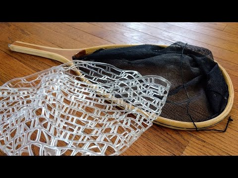 How To Replace The Rubber Mesh Net Bag On Your Landing Net
