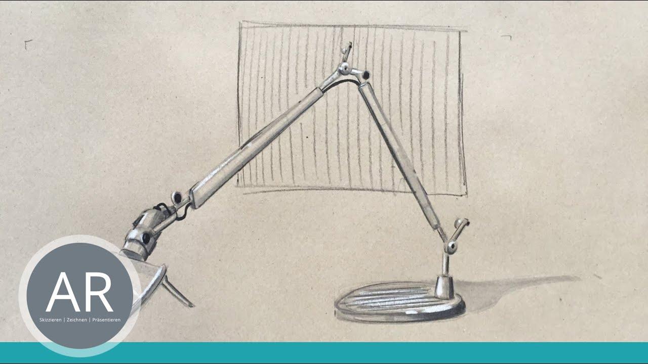 einfach zeichnen lernen - möbel klassiker skizzieren, Innenarchitektur ideen