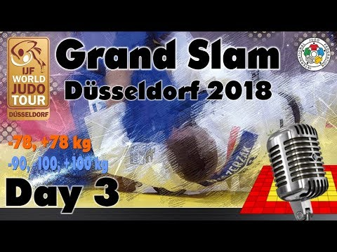 Judo Grand-Slam Düsseldorf 2018: Day 3
