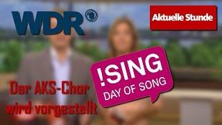 WDR Aktuelle Stunde 03.06.2010 • Der AKS-Chor wird vorgestellt