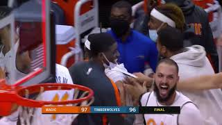 Cole Anthony Sinks Wild Game-Winner To Beat Timberwolves