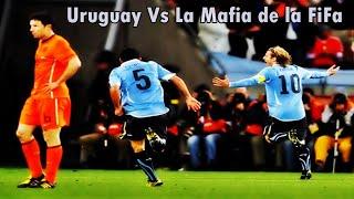 La garra charrúa Vs La mafia de la FIFA Uruguay Vs Holanda ( 3 Millones, la pelicula ) Jaime Ross