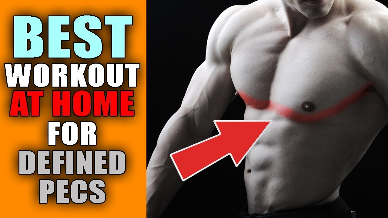 New lower chest workout at home no equipment or gym needed