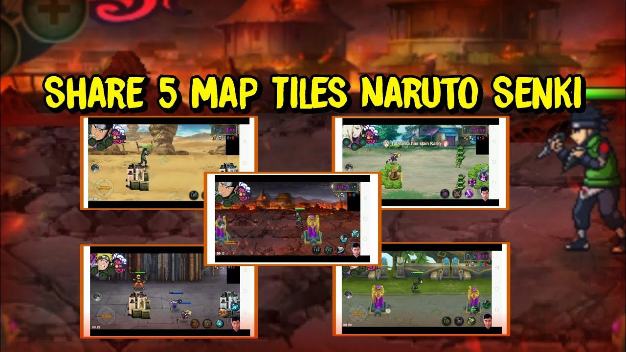 Share 5 Map Tiles Naruto Senki + Cara Pemasangan