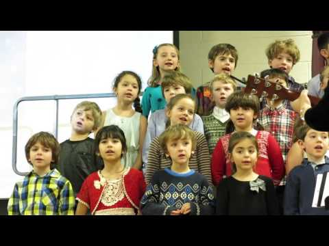 "Foote School First Graders Sing ""This Little Light of Mine"""