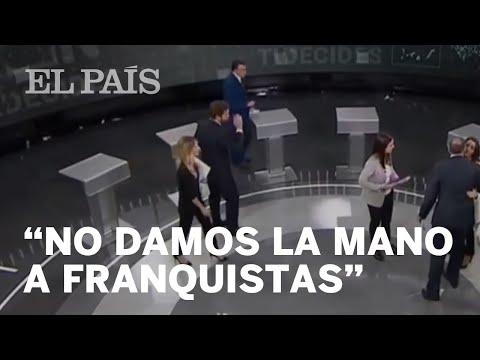 El portavoz del PNV, Aitor Esteban, niega el saludo al de Vox, Iván Espinosa de los Monteros