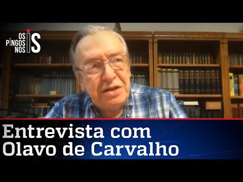 EXCLUSIVO: Olavo de Carvalho fala à JP