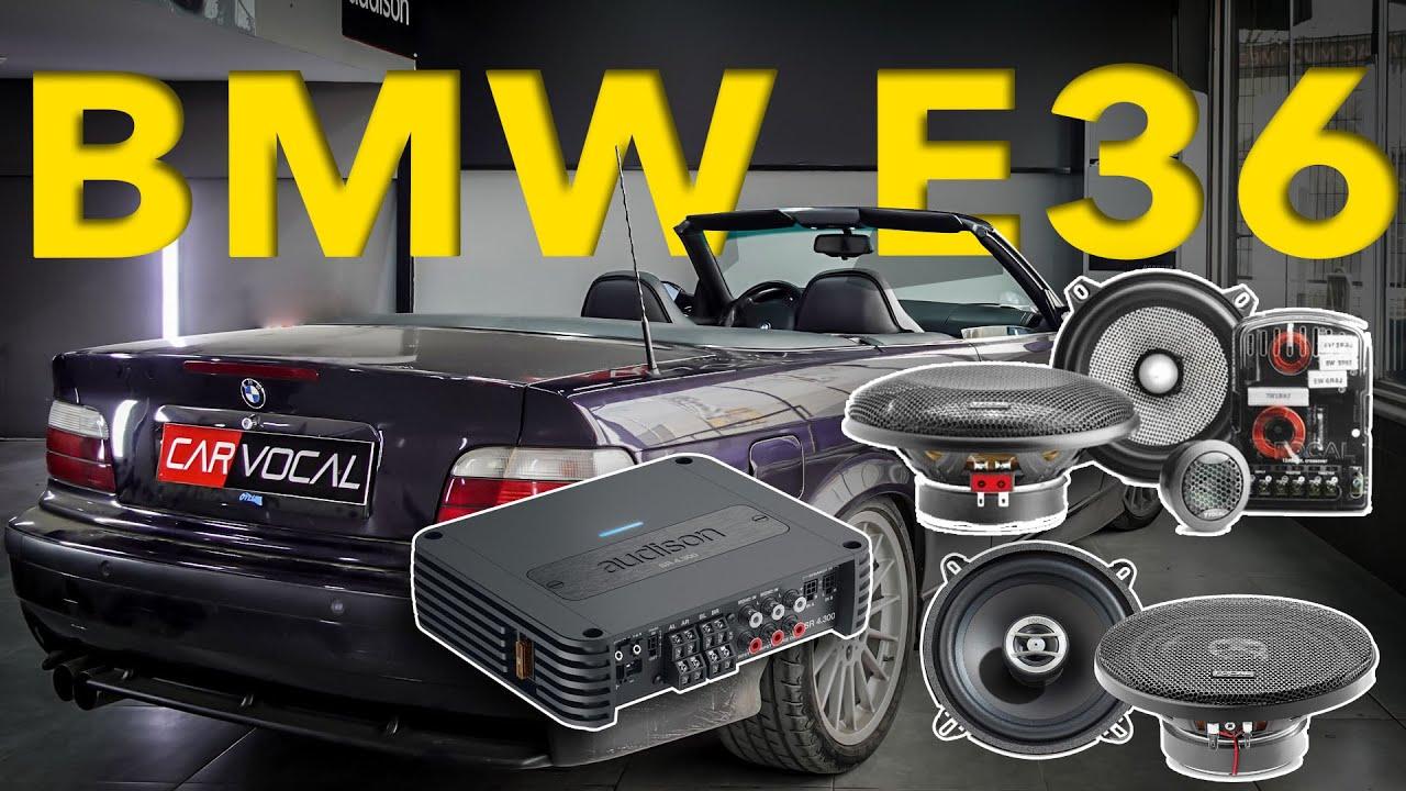 BMW E36 CABRIO SES SİSTEMİ | FOCAL & AUDISON
