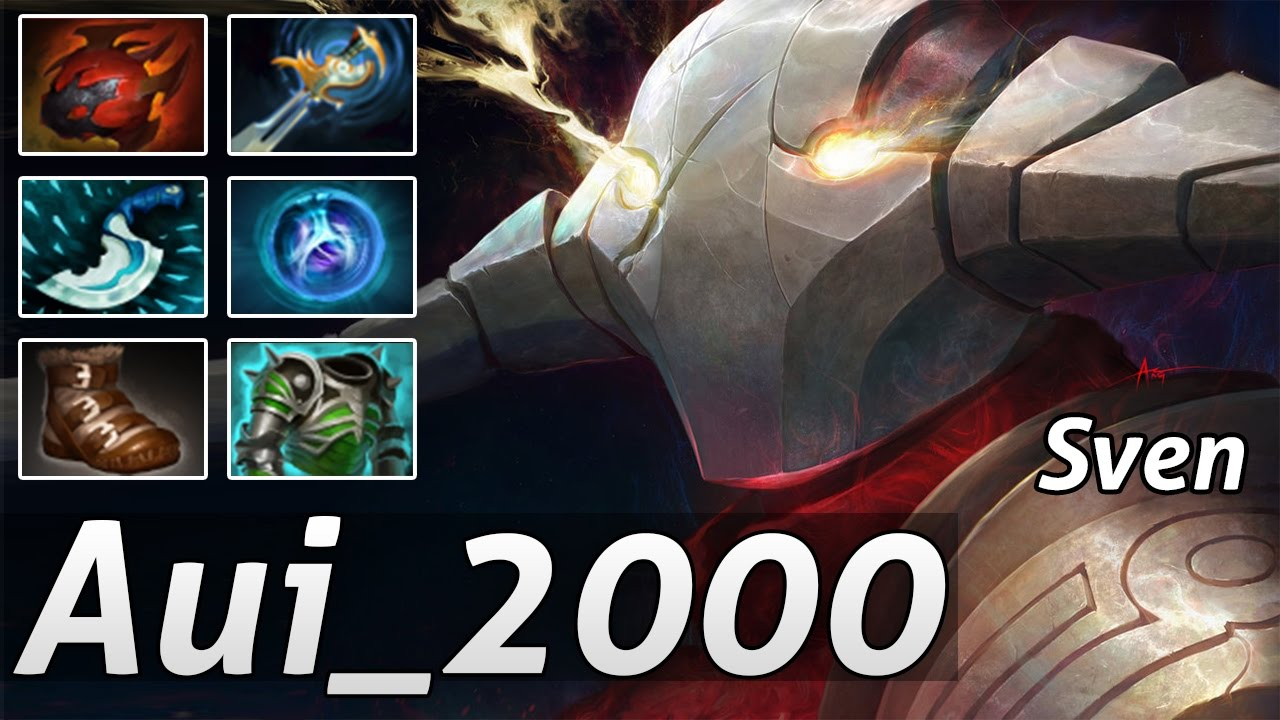 Sven build guide dota 2: how to (actually) carry with sven (very.