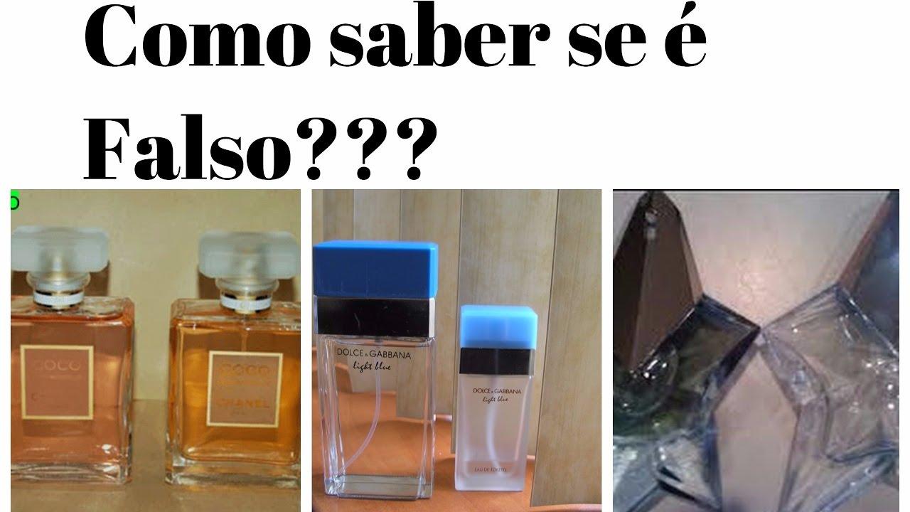 97154255ace Como identificar Perfumes Falsos! - YouTube