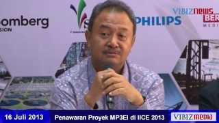 Penawaran Proyek MP3EI di IICE 2013, Vibiznews 16 Juli 2013