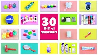 Video DIY | Barbie Bebek  için  Banyo Minyatür Ürünleri nasıl yapılır? 30+ diy Kendin Yap download MP3, 3GP, MP4, WEBM, AVI, FLV November 2017