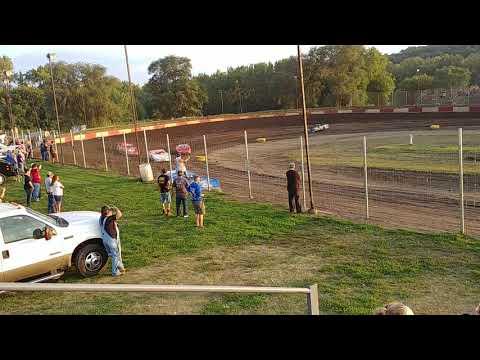 Bill kettering jr racing peoria speedway heat race