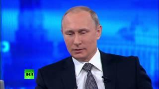 «Прямая Линия» С Владимиром Путиным 2015
