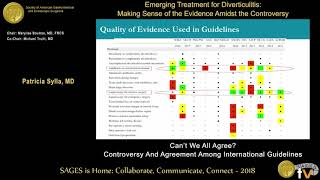 Can't we all agree? Controversy & agreement among international guidelines