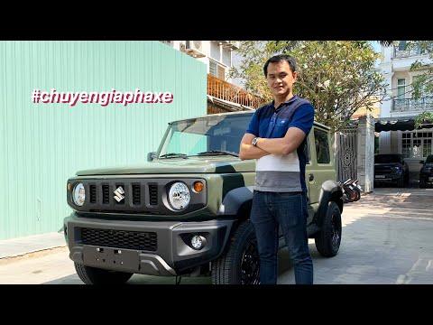 Chi Tiết Suzuki Jimny Tại Việt Nam - Ngoài Tưởng Base, Trong Gần Full   Vlogxe.vn