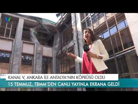 Kanal V, Ankara İle Antalya'nın Köprüsü Oldu