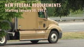 CDL: New Federal  Requirements